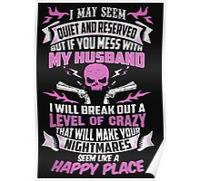 Mess with My Husband Poster