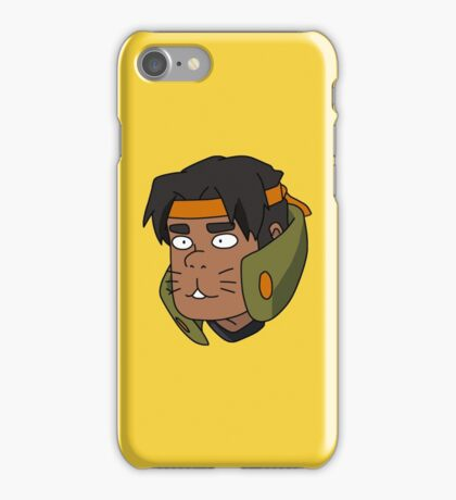 Hunk 'Hunkitty' Garrett iPhone Case/Skin