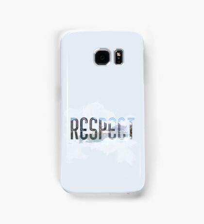 RESPECT Nature Samsung Galaxy Case/Skin