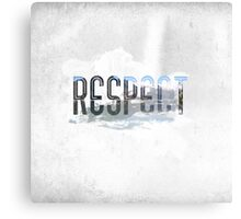 RESPECT Nature Canvas Print