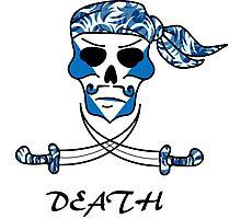 Cool Death Skull Photographic Print