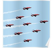Red Arrows - 50th Display Season Poster