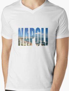 Napoli Mens V-Neck T-Shirt