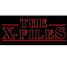 The X-Files Photographic Print