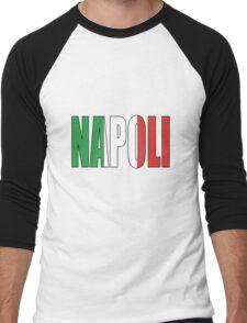 Napoli. Men's Baseball ¾ T-Shirt