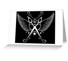Angel Cutting Greeting Card