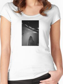 goodbye my love Women's Fitted Scoop T-Shirt