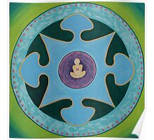 Mandala No. 1: Peace Poster