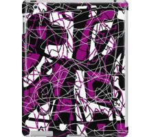 Purple abstract pattern iPad Case/Skin