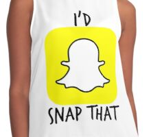 Snapchat Contrast Tank