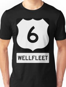 US 6 - Wellfleet Massachusetts Unisex T-Shirt