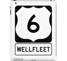US 6 - Wellfleet Massachusetts iPad Case/Skin