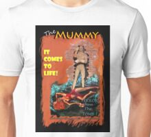 Woman in the red dress meets The Mummy Unisex T-Shirt