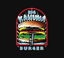"Big ""KAHUNA"" Burger On Sesame Dark Womens Fitted T-Shirt"