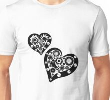 Steampunk hearts Unisex T-Shirt