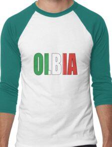 Olbia. Men's Baseball ¾ T-Shirt