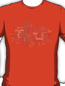 Final Fantasy XIV Word Cloud T-Shirt
