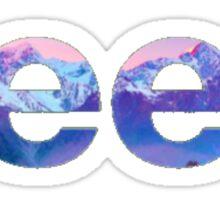 Jeep Mountain Sticker