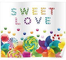 Love Sweets Poster