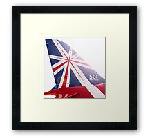 Red Arrows - 50th Display Season Framed Print