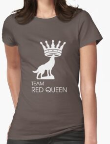 Team Red Queen (Ruby & Regina - OUAT) Womens Fitted T-Shirt