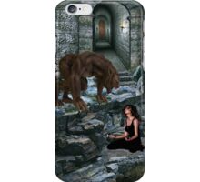 Werewolf and the Maiden iPhone Case/Skin