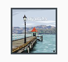Akaroa Wharf, New Zealand by Ira Mitchell-Kirk Unisex T-Shirt