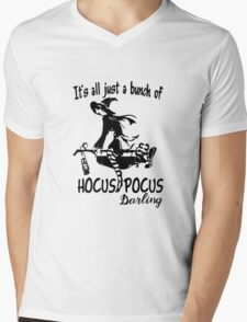 Halloween - Hocus Pocus Mens V-Neck T-Shirt