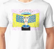 15th Century English Horned Headdress Unisex T-Shirt