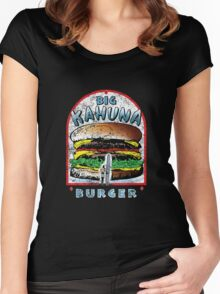 "Big ""KAHUNA"" Burger - Distressed Variant Women's Fitted Scoop T-Shirt"