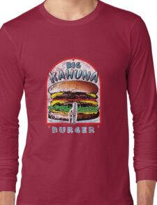 "Big ""KAHUNA"" Burger - Distressed Variant Long Sleeve T-Shirt"