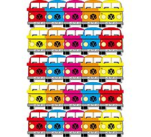 Campervan Multi Abstract No.1 Photographic Print
