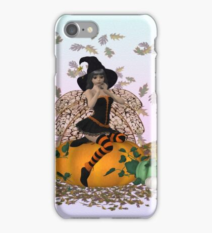 October .. the fairy witch iPhone Case/Skin