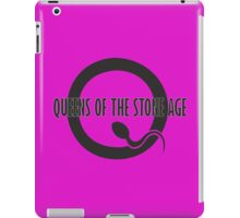 queens of the stone age logo iPad Case/Skin