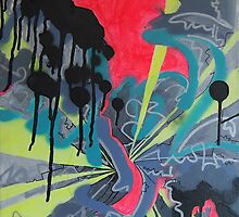 Wendepunkt - Abstract Painting by strangefields