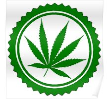 Cannabis Weed Poster
