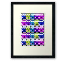 Campervan Multi Abstract No.2 Framed Print