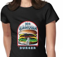 "Big ""KAHUNA"" Burger - White Back Variant Womens Fitted T-Shirt"