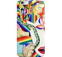 The Serpent and the Rainbow girl iPhone Case/Skin