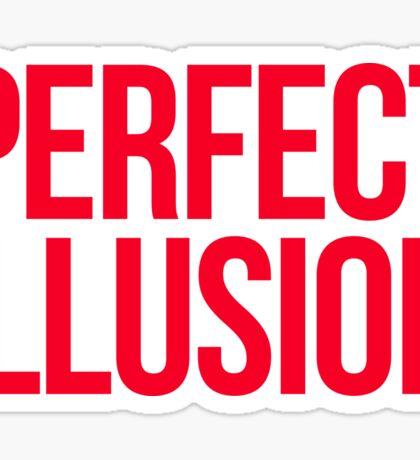 Perfect Illusion - Lady Gaga Sticker