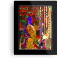 Double Bass Player Metal Print