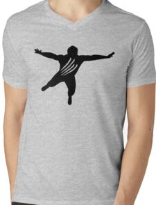 Chris Benoit wrestling Mens V-Neck T-Shirt