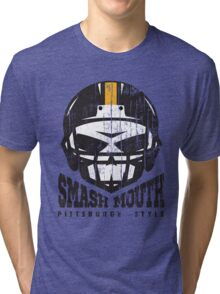 SMASH MOUTH FOOTBALL (vintage) Tri-blend T-Shirt