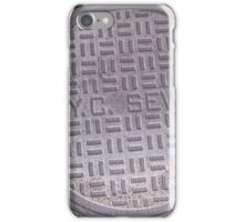 NYC sewer iPhone Case/Skin