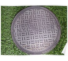 NYC sewer Poster
