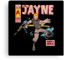 The Mighty Jayne Canvas Print