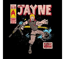 The Mighty Jayne Photographic Print