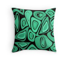 Seamless abstract pattern . Throw Pillow