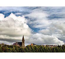 Little church on a hill Photographic Print