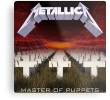 Master of puppets Metal Print